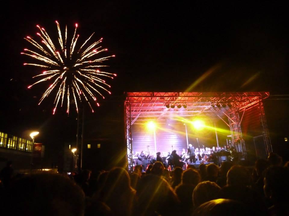 fireworks campus fest