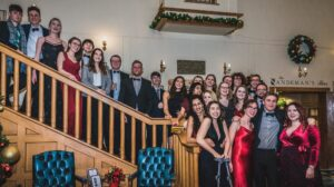 ULMS Choir at the 2019 Winter Ball